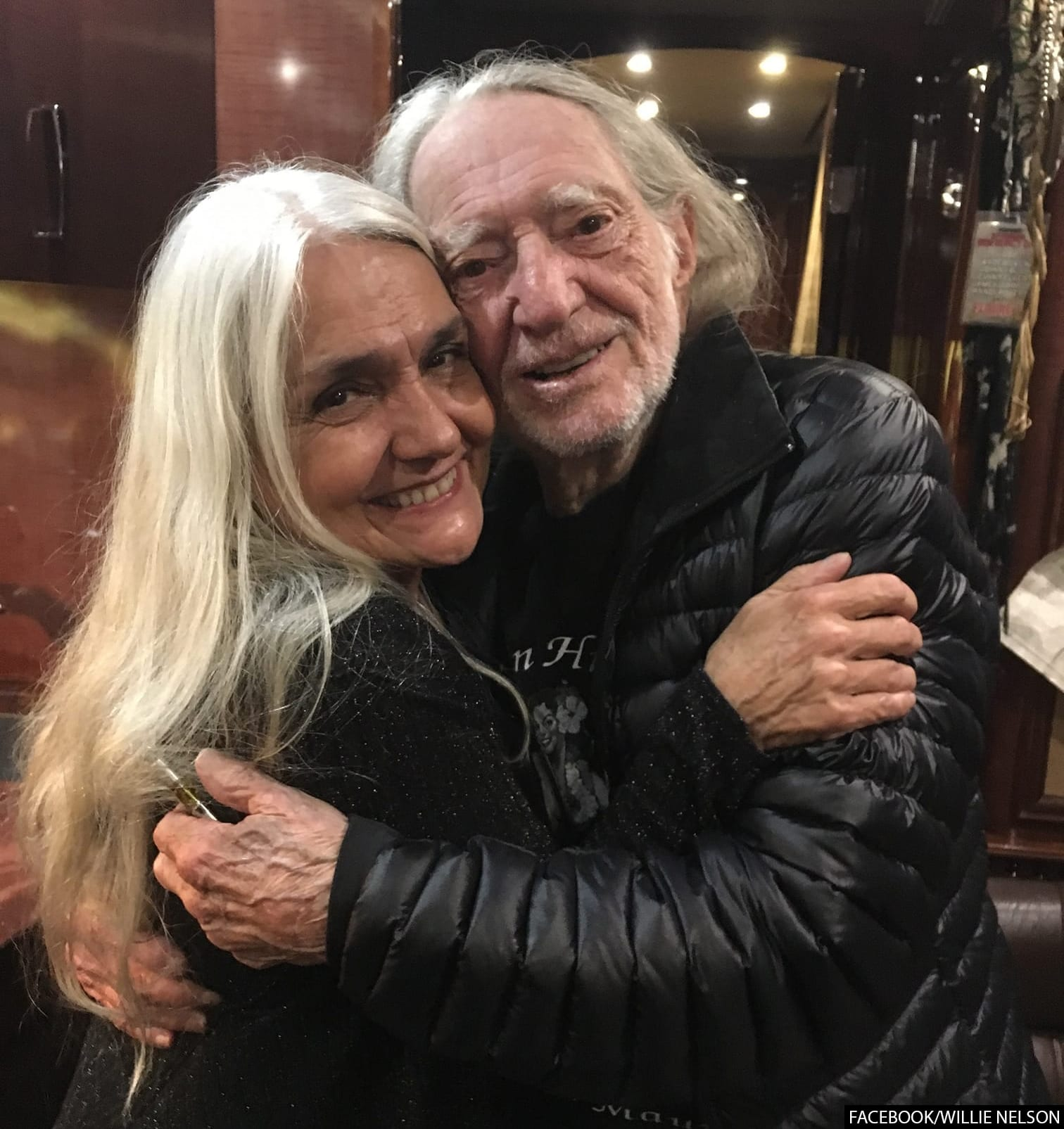 Willie Nelson and Lana Nelson