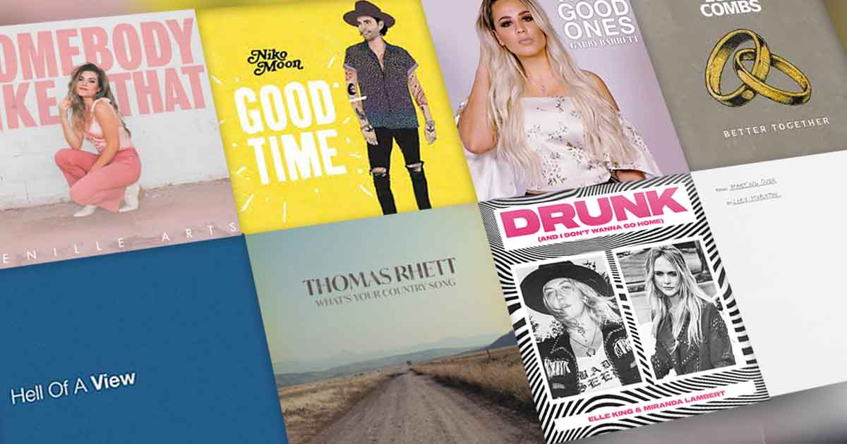 Here are the top 40 country songs for April 2021