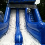 inflatable waterslide rental
