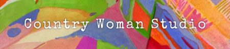 country woman studio gouache background to text