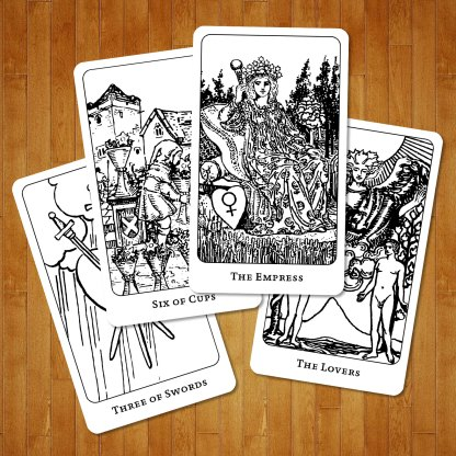 The Coloring Book Tarot