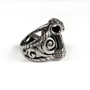 Celtic Thor's Hammer Stainless Steel Ring