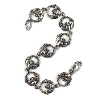 Sterling Claddagh Bracelet