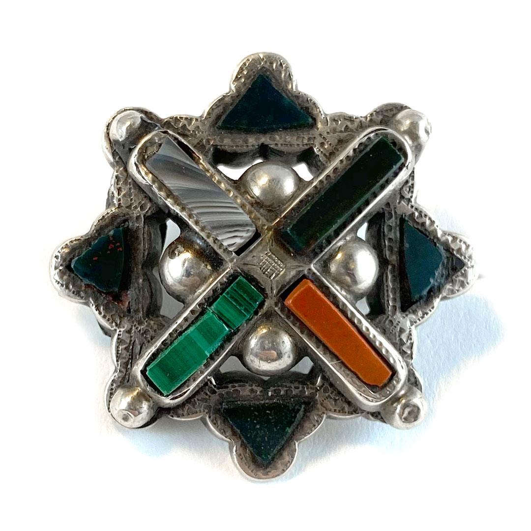 St. Andrew's Cross Kilt Pin