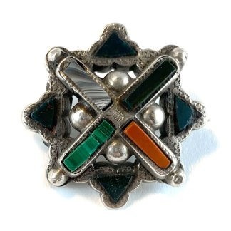 St. Andrew's Cross Kilt Pin