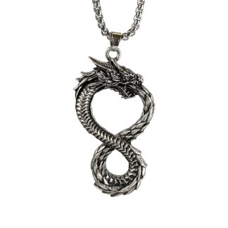 Dragon Loop Necklace