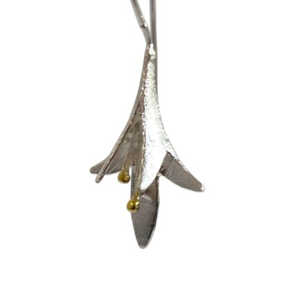 Hanging Lily Earrings