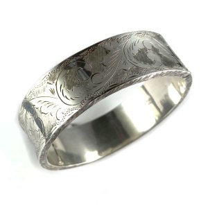 Victorian Style Sterling Cuff