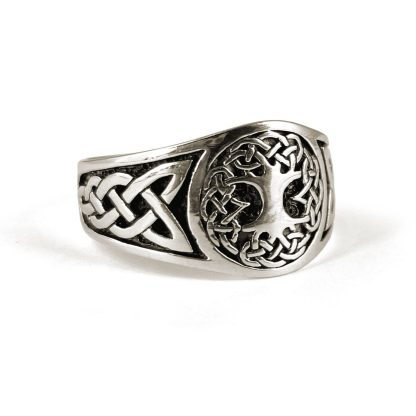 Celtic Tree of Life Sterling Ring