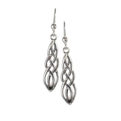 Celtic Weave Sterling Earrings