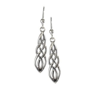 Celtic Weave Sterling Earrings