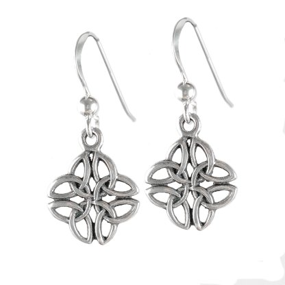 Celtic Trinity Knot Sterling Earrings