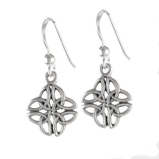 Celtic Trinity Knot Sterling Earrings