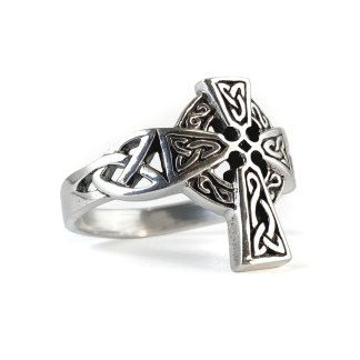 Irish Cross Sterling Ring