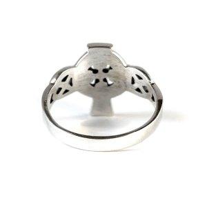 Irish Cross Sterling Ring