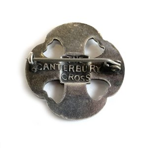 Vintage Canterbury Cross Pin
