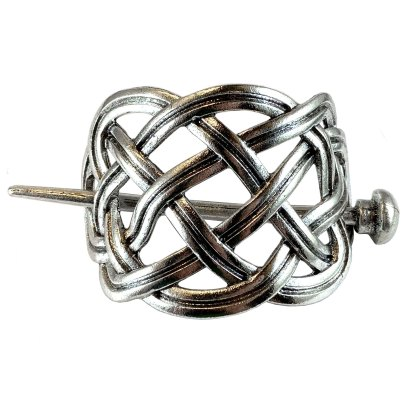 Celtic Circle Knot Hair Clip
