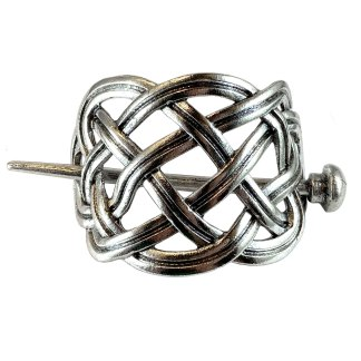 Celtic Circle Knot Hair Clip