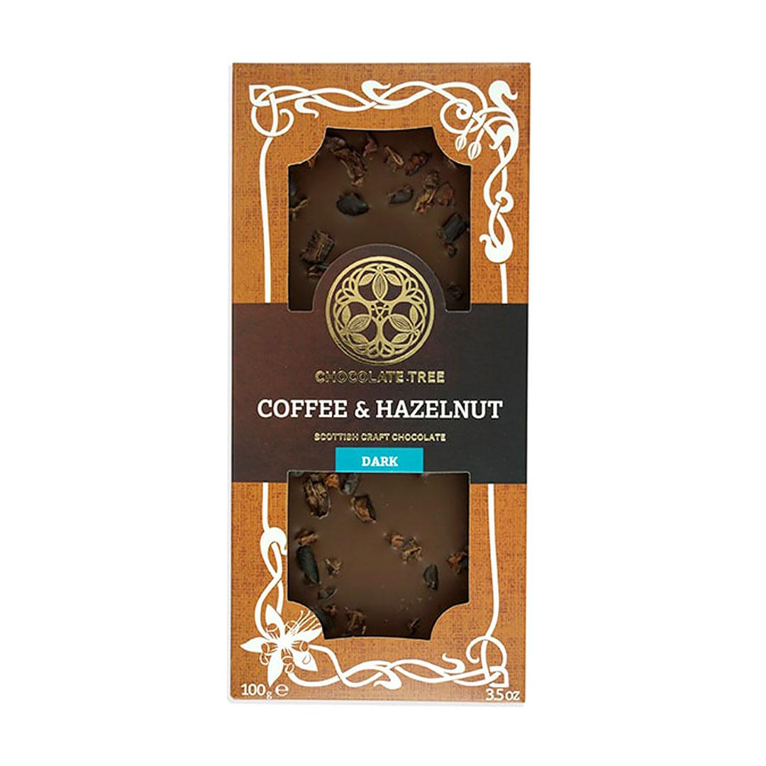 Coffee & Hazelnut Chocolate Bar