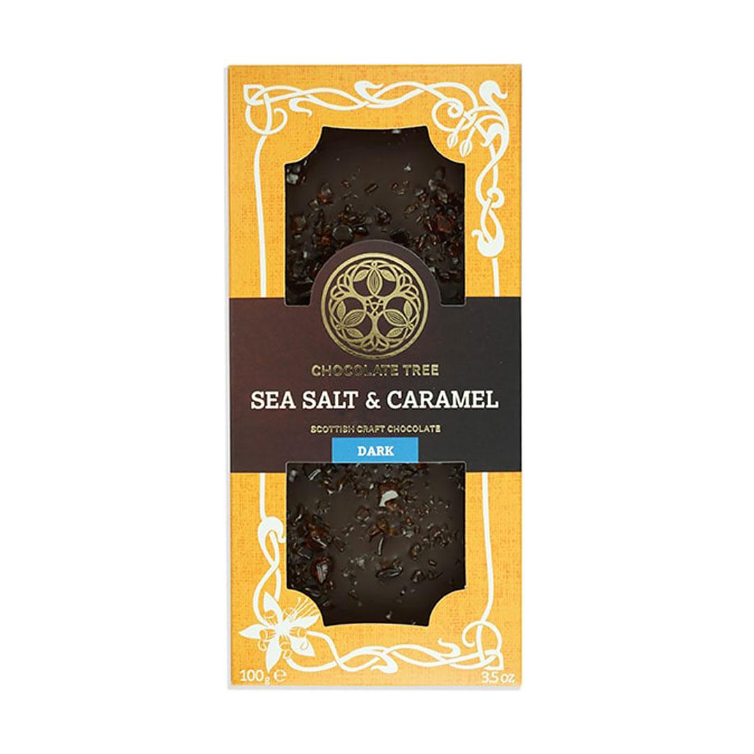 Sea Salt & Caramel Chocolate Bar