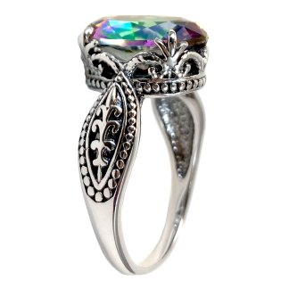 Minerva Ring in Sterling