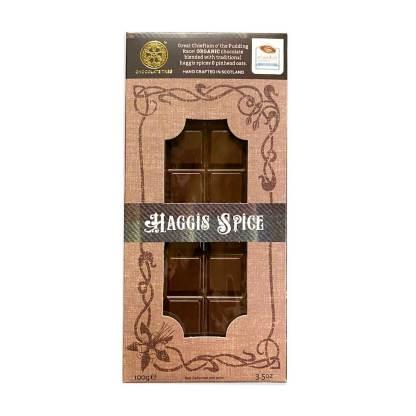 Haggis Spice Artisan Chocolate Bar