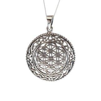 Celtic Flower of Life Pendant