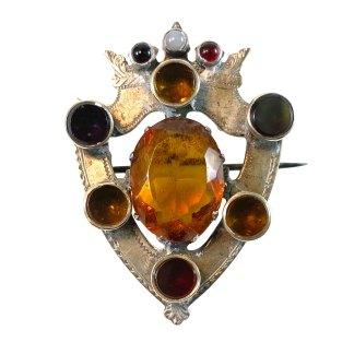 Crowned Shield Kilt Pin