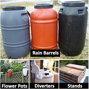 Image result for rain barrel sale prince edward