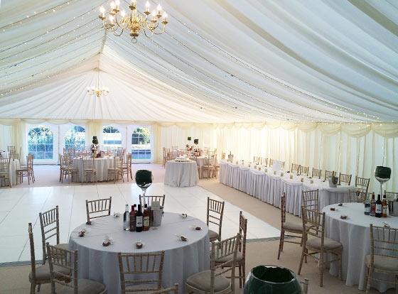 Wedding Reception Marquee Marquee Hire Brickendonbury