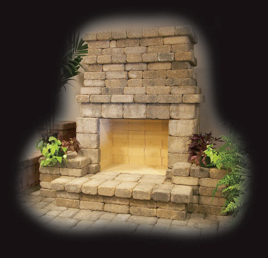 Summit Stone 174 Outdoor Fireplaces