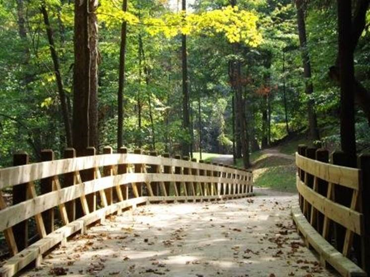 photo of a trail in Parma Heights