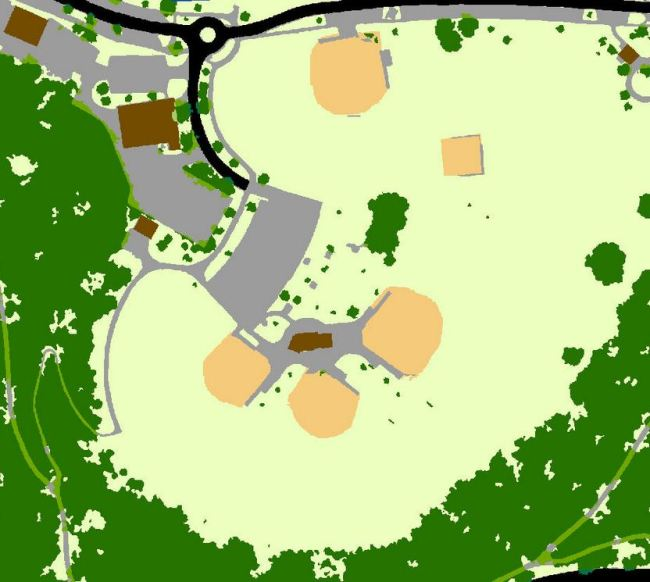 sample land use maps of parks