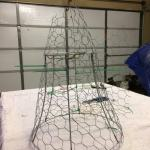 Super Cute Diy Chicken Wire Cloche County Road 407