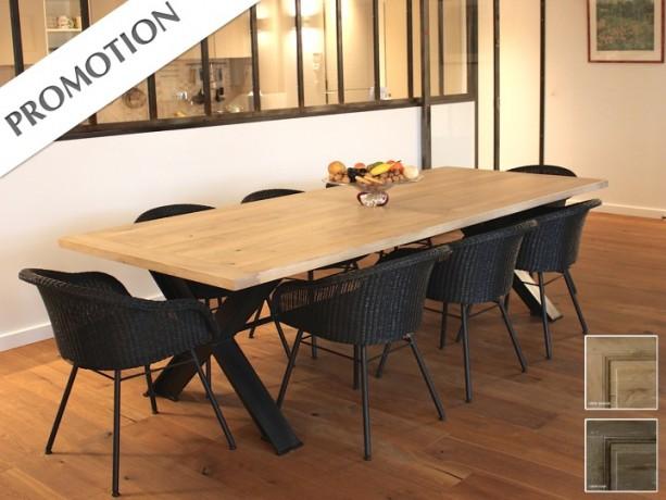 table de repas industrielle architecte