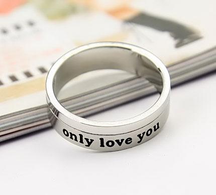 Engraved Spinning Rings For Boyfriend Cheap Promise Rings