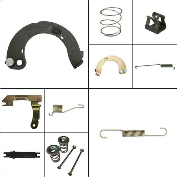 10 inch Electric Brake Parts
