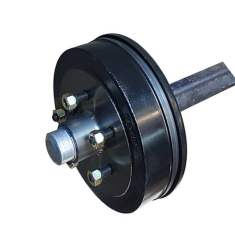45mm square hydraulic drum braked axle