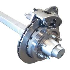 50mm 2t Axle Stainless
