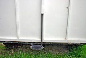 horsefloat tailgate door