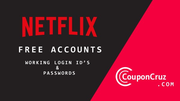 netflix free accounts and passwords