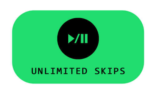unlimited skips spotify