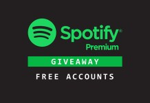 spotify premium free account giveaway
