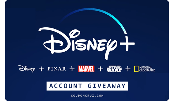 disney plus free account giveaway