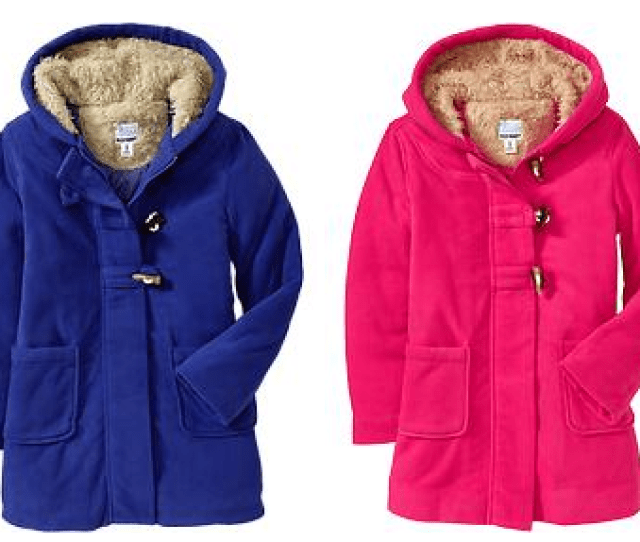 Old Navy Is Having A One Day Wonder Sale Today  You Can Get Fleece Coats For The Whole Family For Only 15 Shop In Store Or Online