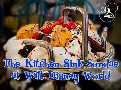 the kitchen sink dessert at disney s