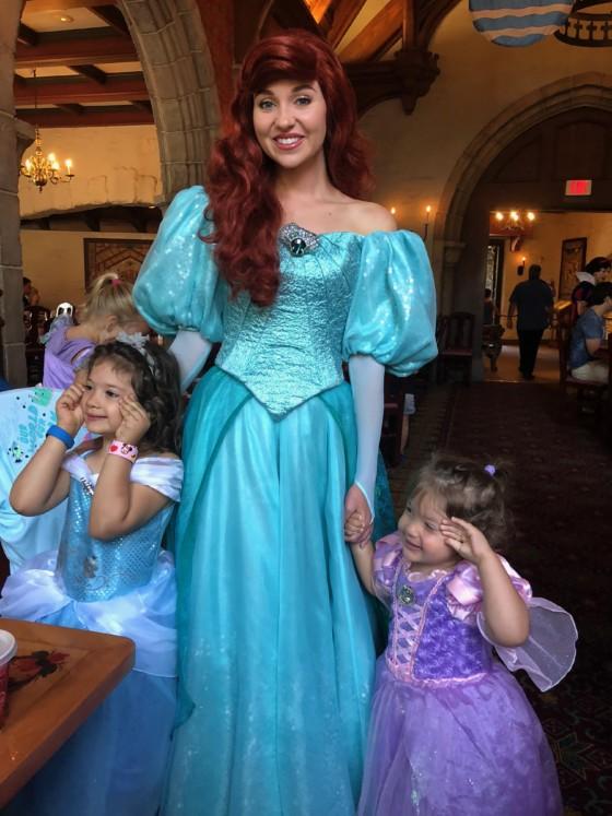 finding princesses at disney world ariel