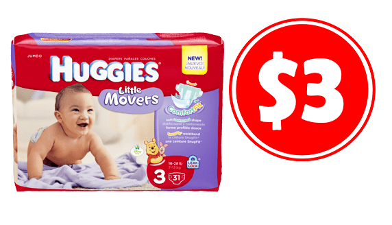 photograph regarding Printable Huggie Coupons identify $3 Huggies Diapers with PRINTABLE Discount coupons - CouponMom Web site