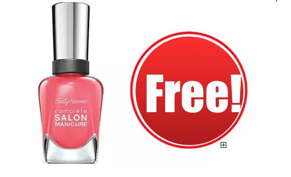 CVS: FREE Sally Hansen Gel Nail Polish - CouponMom Blog