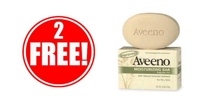 2 FREE Aveeno Products